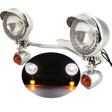 LED Driving Passing Turn Signal Light Bar For Yamaha Road Star XV1700A XV1600A
