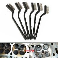 1pc 180mm Black Steel Small Brush Cleaning Brushes Wire Spark Wheel Rust Scrub
