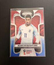 2018 Panini Prizm World Cup Red Blue Wave #72 Marcus Rashford
