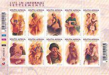 Sud Africa South Africa 2003 Mf 1240-49 Scene di vita quotidiana MNH