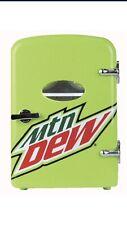 Mtn Dew 6 Can Cooler / Mini Fridge Mountain Dew Mini Refrigerator New!