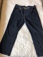 Levi's Woman's Jeans Size 30 Dark Blue Denim Straight Leg