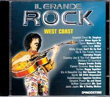 "IL GRANDE ROCK ""WEST COAST"" cd promo Italy mint FRANK ZAPPA TURTLES BYRDS SPIRIT"