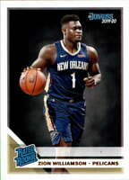 2019-20 Donruss #201 Zion Williamson NM-MT