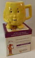 Actos Pharmaceuticals Promotion Ceramic HDL Cholesterol Mug Anthropomorphic