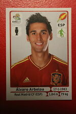 Panini EURO 2012 N. 292 ESPANA ARBELOA NEW With BLACK BACK TOPMINT!!