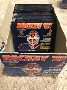 1987 Panini Stickers Package UNOPENED Hockey Gretzky Recently Found WAX Pack