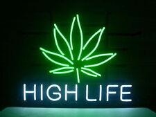 "New High Life Real Glass Tube Beer Bar Neon Light Sign 16""x15"" [High Quality]"