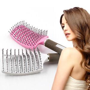 LT_ EG_ WR_ AM_ ANTI SKID HAIR MASSAGE COMB BRISTLE BRUSH HAIRDRESSING STYLING