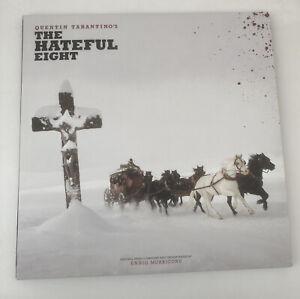 The Hateful Eight Soundtrack Vinyl Double Album 3 Panel Gatefold Ltd Ed. Booklet