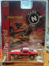 aw afx aurora rel 26 xtraction red ford shelby gt 350 ho slot car