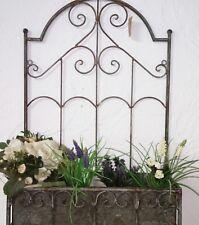 Jardiniere Wandkasten Korb Metall Blumenkasten Shabby Vintage Landhaus Deko 58cm