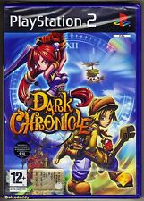 PS2 Dark Chronicle, UK Pal Format Italian Edition, Brand New Sony Factory Sealed
