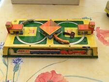 Ancien Jouet Trains en Tôle à Clef Mécanique Boite Origine Made In URSS