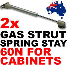 2x 60N GAS STRUT LIFT SPRING PNEUMATIC STAY for kitchen cabinet handle door