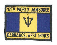 1991 World Scout Jamboree WEST INDIES BARBADOS SCOUTS Contingent Patch
