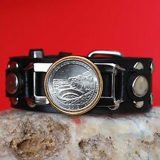 2012 New Mexico Chaco Culture National Forest Historical Park Leather Bracelet