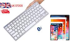 Wireless Bluetooth Keyboard BLUE FINGER Slim iPad Android Windows Mac Smartphone