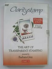 CLARITYSTAMP DVD - THE ART OF TRANSPARENT STAMPING - PART 5