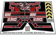 Lego® Custom Pre-Cut Sticker for Technic set 8285 - Tow Truck (2006)