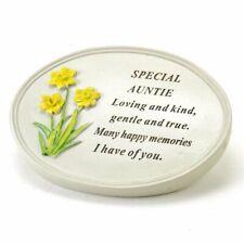 Special Auntie Flower Graveside Memorial Grave Plaque Ornament Decoration