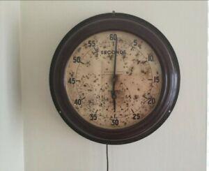 Air Ministry Smiths Dark Room Seconds Clock Ww2 WWII AM RAF