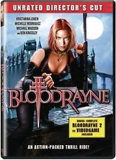 BloodRayne [WS [Unrated] (2006, REGION 1 DVD New)