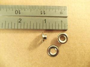 C.S. Osborne Stainless Steel Plain Rim Grommets Size #00 (Box Of 144)