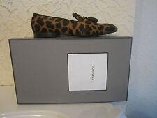 Tom Ford Calf Hair Crocodile Leather Tassels Loafers