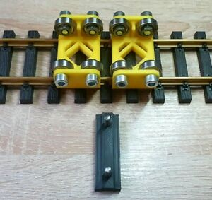 12113 Rollenprüfstand, 2x Rollenbock + Strombock, Spur G, Gartenbahn, LGB, Piko