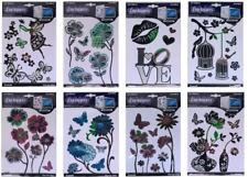 Laptop Decorative Stickers Butterfly Flower Fairy Birds Love