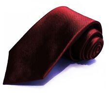7 Fold Tie ❤ Burgundy Red Necktie ❤ 100% Silk Seven Folds ties perfect Big Knot