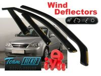 CHEVROLET LACETTI  2004 - 2011 ESTATE COMBI  Wind deflectors 4.pc set HEKO 10507