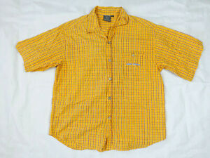 Vintage Rip Curl Short Sleeve Button Up Shirt   90s   Size XL   Great Condition