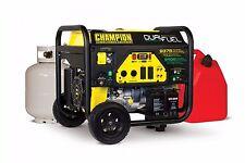 100165 - 7500/9375w Dual Fuel Portable Generator