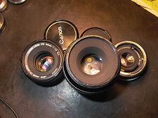 Canon MACRO FD 100/4 1:1 Sony FE Nex +50/1.8 S.C.Nikon Pentax DSLR or DSLM 9++++