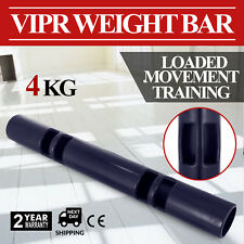 4kg Vipr Training Rubber Weight Fitness Gym Tube Equipment Strength Gun Barrel