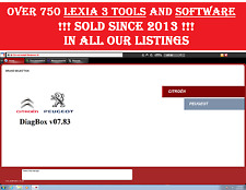 Diagbox 7 & update 7.83 for Lexia 3, Peugeot & Citroen - providing to worldwide