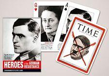 Heroes of Allemand Résistance Lot de 52 cartes à jouer + Jokers ( Gib )