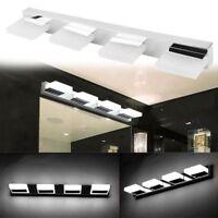 2-4 Lights Modern Bathroom Toilet Vanity Wall Makeup Light Mirror Front LED Lamp