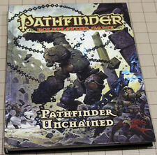 Paizo Pathfinder PATHFINDER UNCHAINED Hardcover Rulebook !!