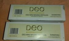 DEO 129 x Spatulas Wooden Mini / Slim Facial, Lip, Chin Waxing Stick  & 62 other