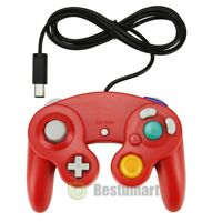 NEW Red Game Controller for Nintendo Gamecube System Console Wii Control Pad