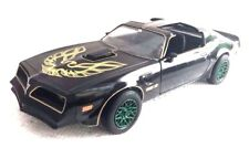 """1977 PONTIAC TRANS AM """"SMOKEY AND THE BANDIT"""" MOVIE 1:24 BY GREENLIGHT CHASE"""