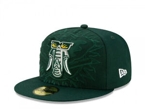 New Era 59Fifty Authentic MLB Oakland A's Elements Low Profile Fitted 7 1/2 Hat