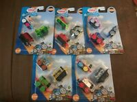 5x Lot Thomas & Friends Minis Collectible Trains (3 Packs) NIP 15 Total 2017