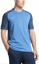 NWT NIKE Aeroswift Strike SS TOP Soccer Shirt TRAINING Blue 725868 Mens S Jersey