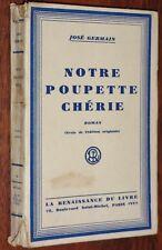 José Germain NOTRE POUPETTE CHERIE 1932 n° 49/112