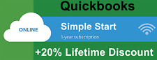 Quickbooks Online Simple Start - 1 Year Subscription + 20% Lifetime Discount