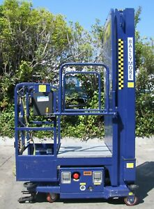 """2018 Ballymore PS-150L Manlift Aerial Boom Personnel Platform Lift 14'-8"""" Height"""